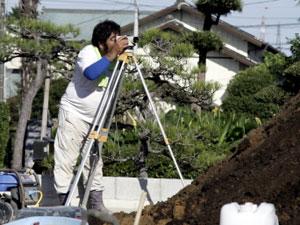 建設現場 測量機器 定期メンテナンス 方法。