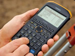 測量電卓の使い方