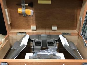 反射実体鏡の修理方法
