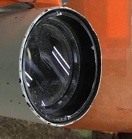 測量機レンズ カビ