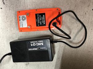 梱包前 バッテリー 放電 満充電