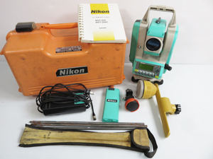 Nikon ニコン トータルステーション 買取